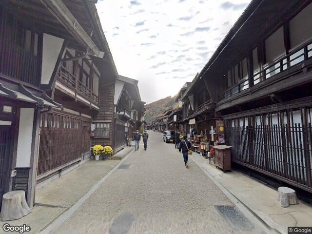 Old Nakasendo, Shiojiri, Nagano