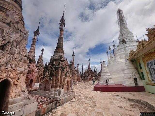 Mwe Taw Kakku Pagodas Complex မူၺ်ႇတေႃႇၵၢတ်ႇၵူႇ
