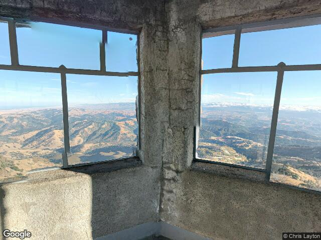 Mount Diablo Summit Museum and trailhead