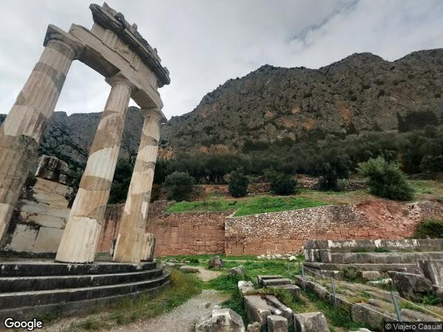 Athena Pronaia Temple